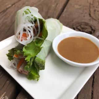 Gluten Free Vietnamese Spring Rolls