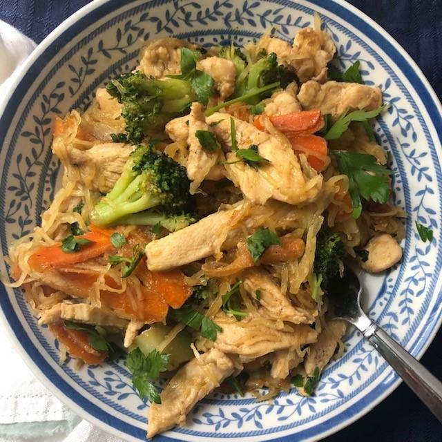 Paleo Chicken Pad Thai