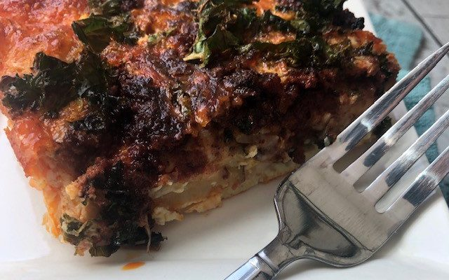 Spicy Sheetpan Crustless Quiche: A Hunger Action Recipe