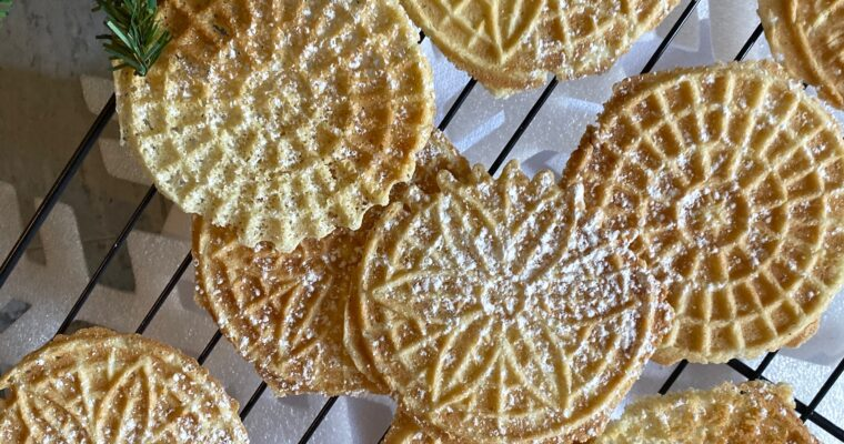 Easy Italian Pizzelles