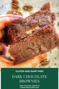 Gluten free brownies pin