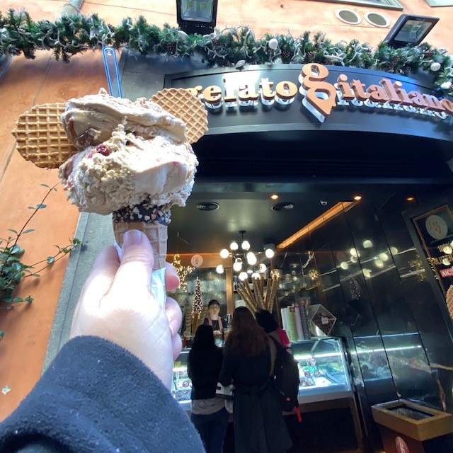Eating Gluten Free in Rome – The Gelato Edition