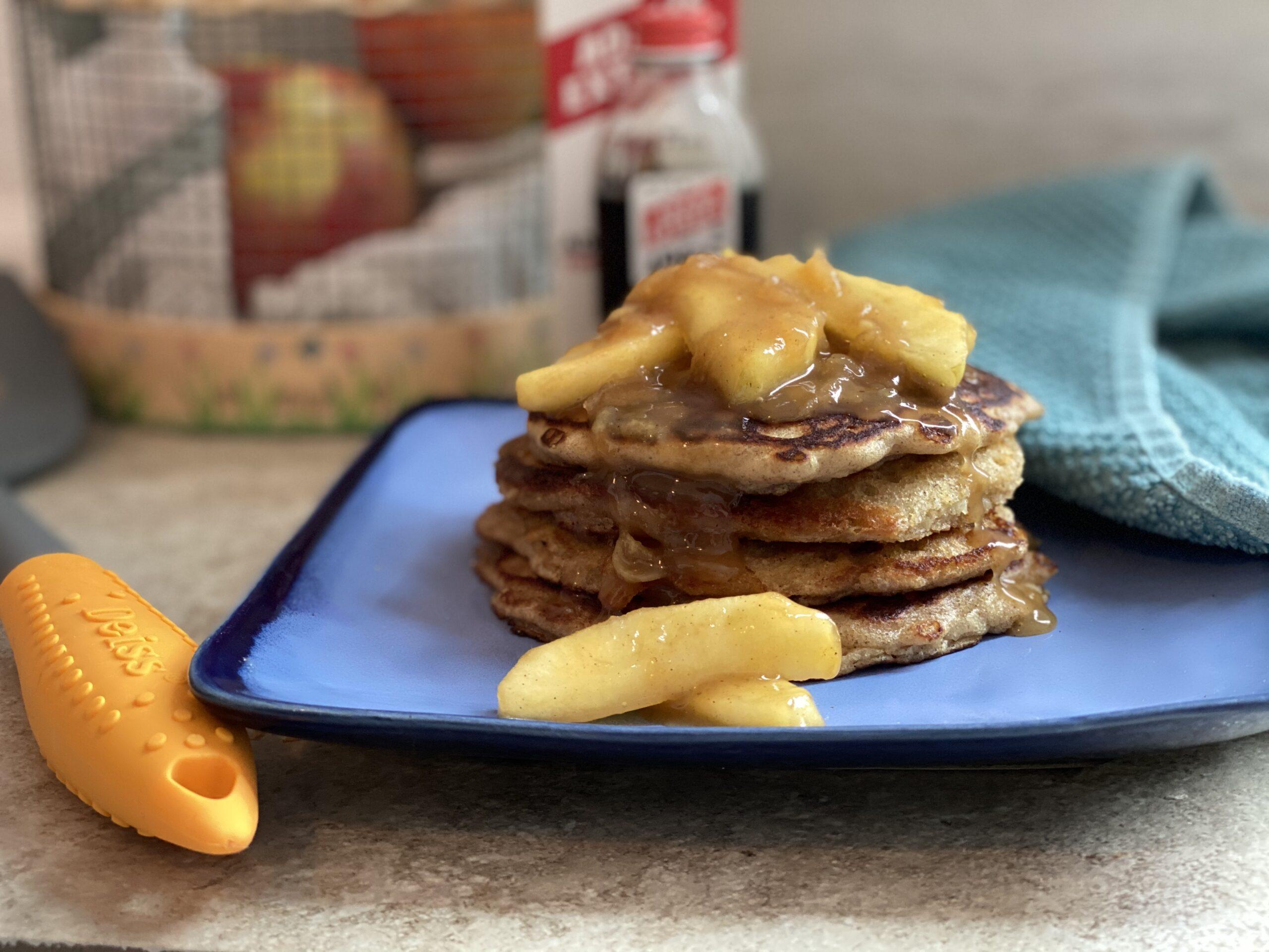Gluten Free Apple Pie Pancakes – #SpringSweetsWeek
