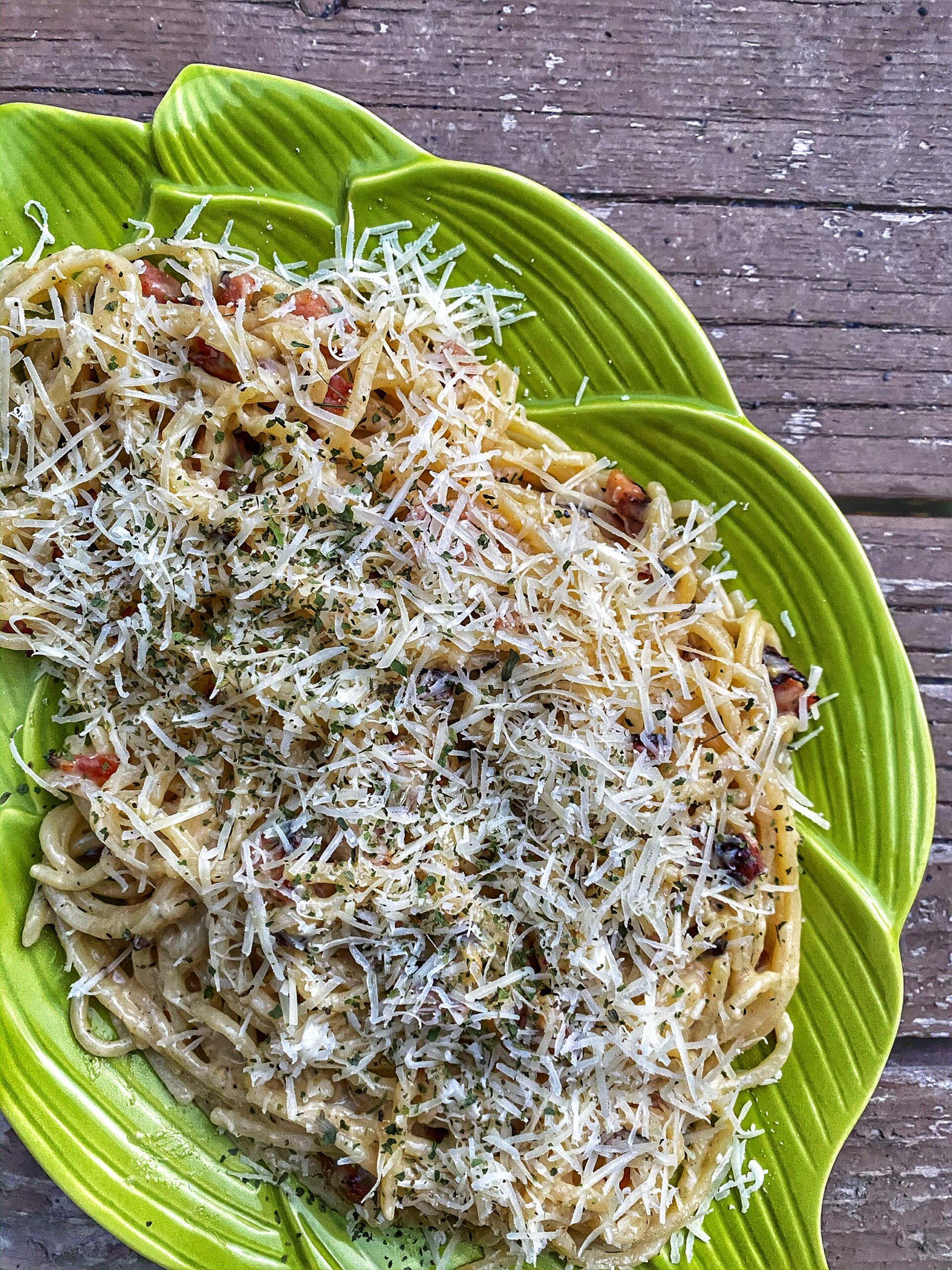 Traditional Italian Carbonara – Gluten Free