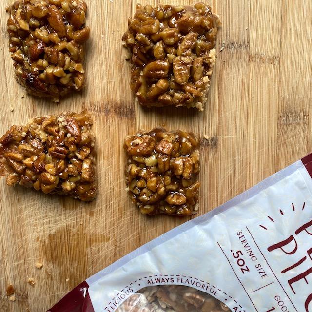 Gluten Free Pecan Shortbread Bars – #SpringSweetsWeek