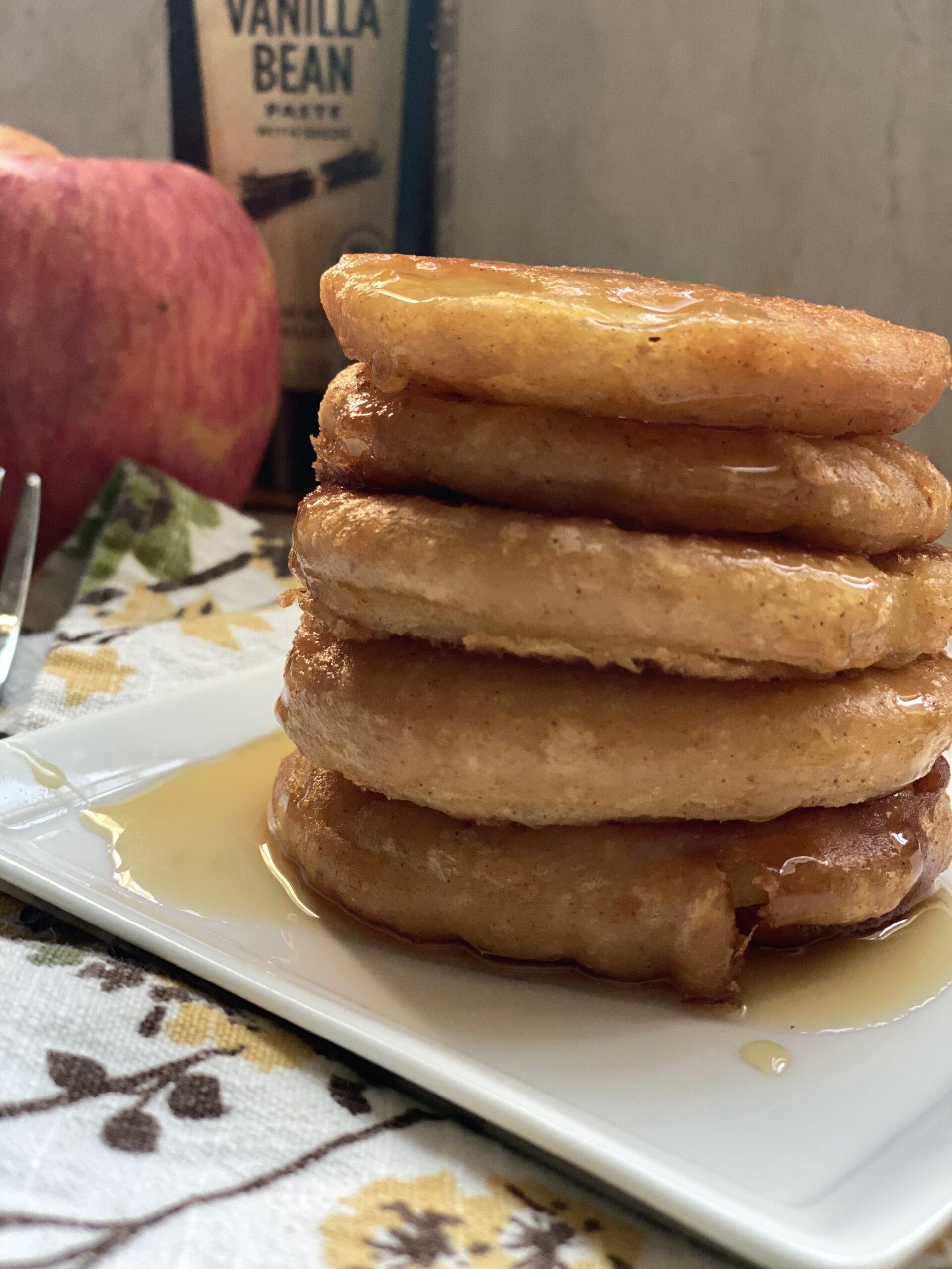 Gluten Free Vanilla Apple Fritters