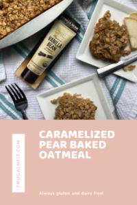 Baked Pear Oatmeal