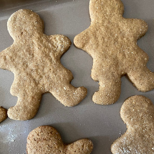 Gluten Free Gingerbread Cookies – #ChristmasCookieWeek