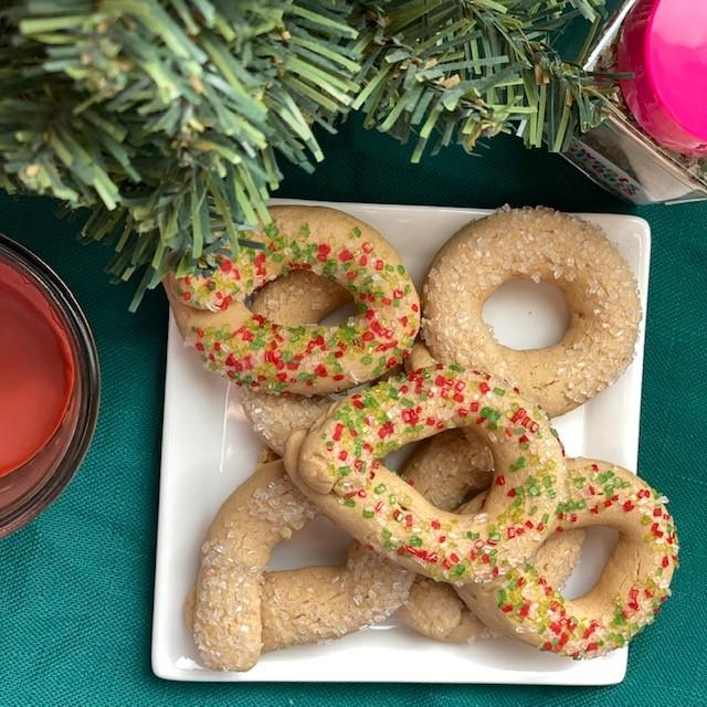 Vegan Italian Wine Cookies – #ChristmasCookieWeek