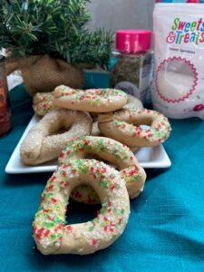 wine cookies vegan