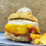 Gluten Free Peach shortcake