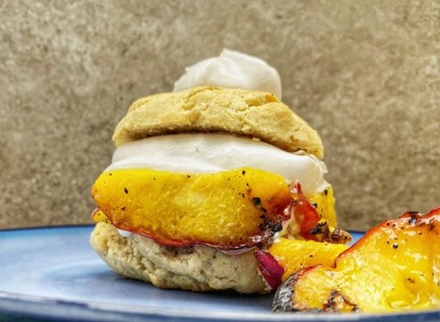 Gluten Free Grilled Peach Shortcakes