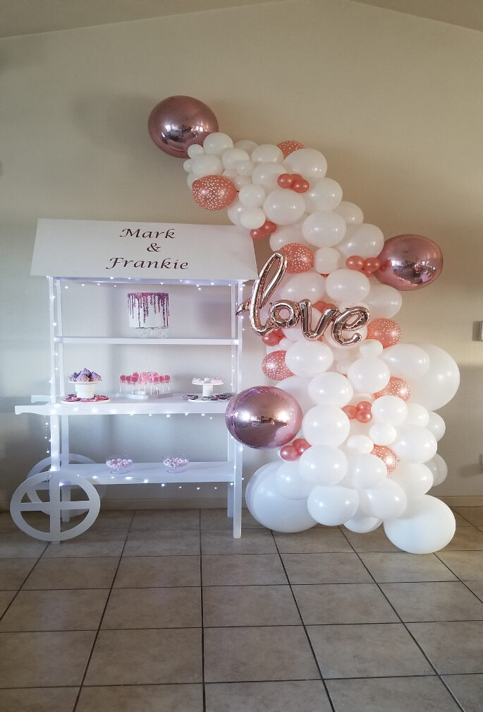 Fedilia Customized Dessert Cart