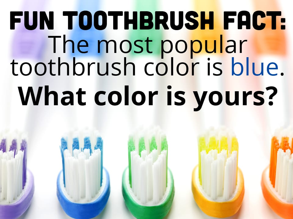 toothbrush color