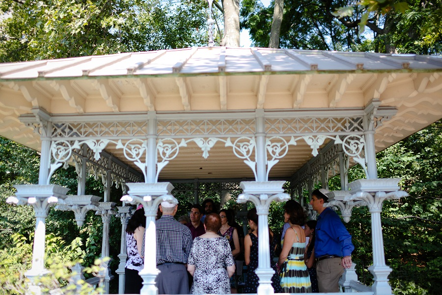 Ladies Pavilion Central Park Wedding