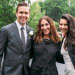 Wedding Planner Jennifer Schoenfeld with Wedding Couple