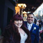 Wedding Couple on streets of NYC