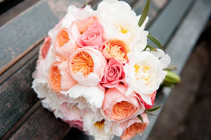 peach-coral-white-bridal-bouquet