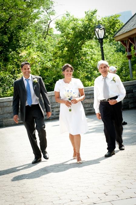 bridal-processional-central-park-wedding