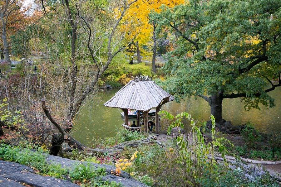Wagner Cove Gazebo Central Park