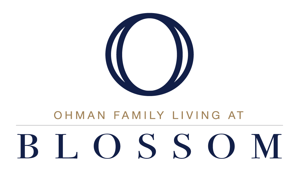 Ohman Family Living at Blossom logo