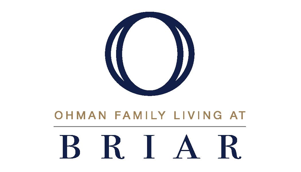 Ohman Family Living at Briar logo