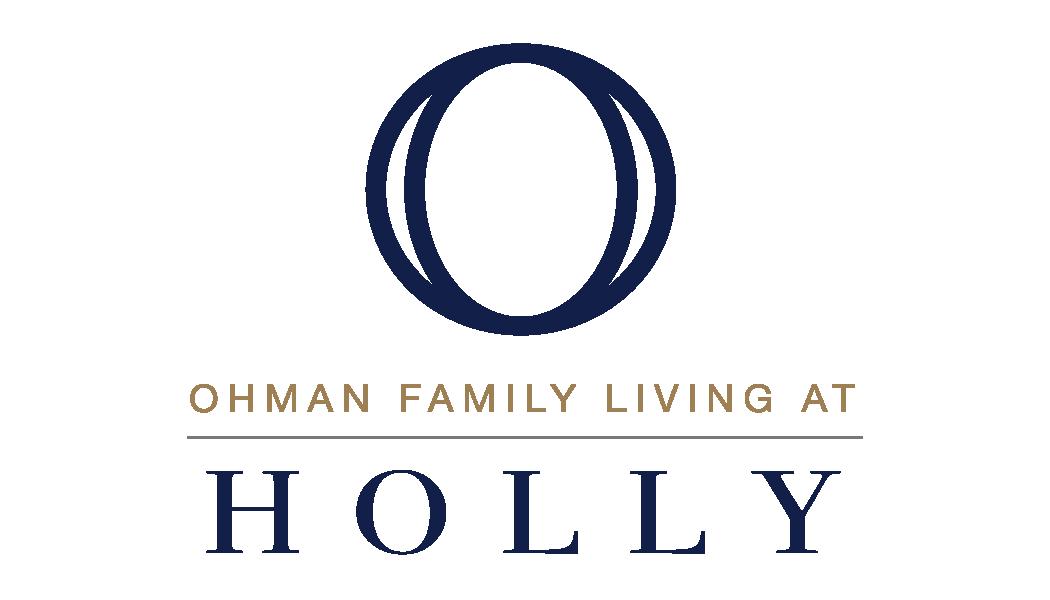 Ohman Family Living at Holly logo