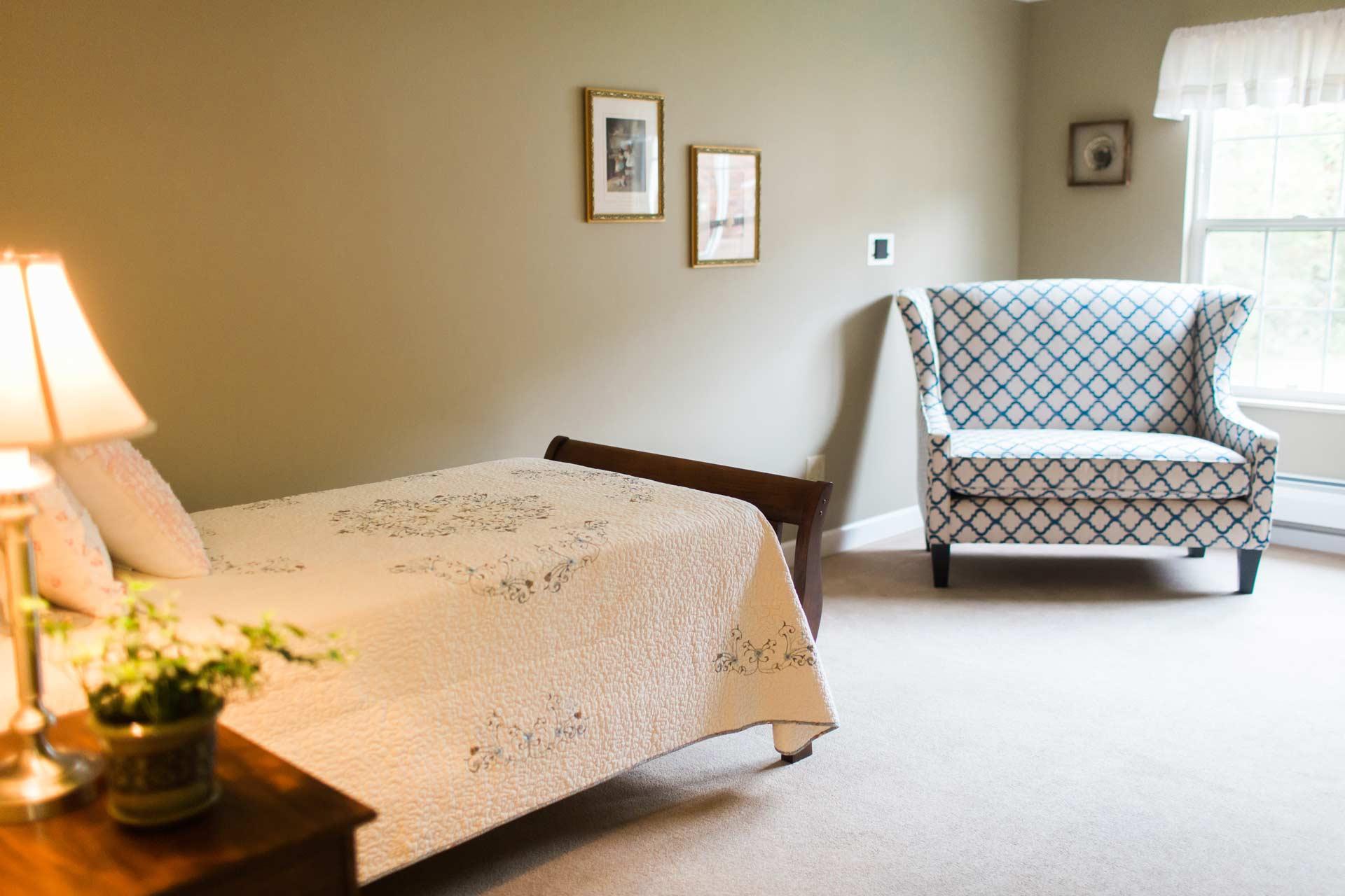 resident bedroom at Blossom