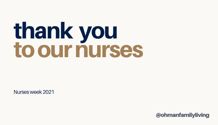 #NursesWeek2021