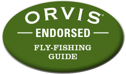 We are an Orvis Endorsed Guide!