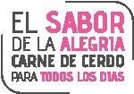 El Sabor de la Alegría – Carne de cerdo para todos los días – ANAPOR Logo