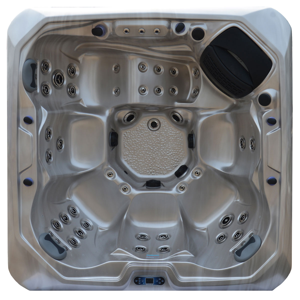 Serenity 8XL Top View