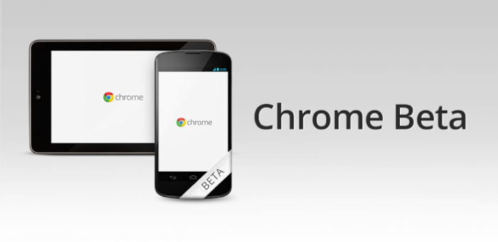 Beta Channel Release of Chrome for Android now Available in the Play Store