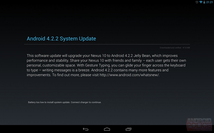 Android 4.2.2 Slowly Rolling out to GSM Galaxy Nexus, Nexus 4, 7, and 10 Devices