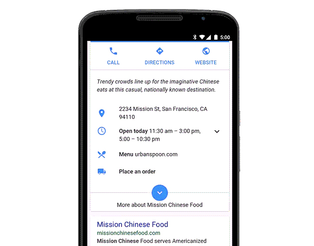 Google Now's Newest Trick: Food Orders