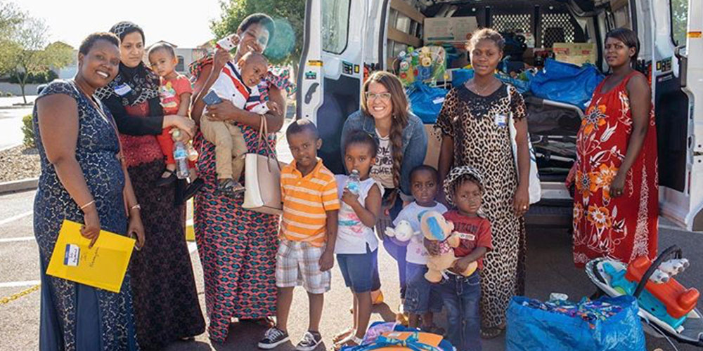 Hold A Donation Drive   Group & Service Projects   Ways to Help   Gathering Humanity