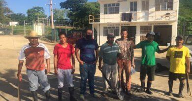 Limpian planta de aguas residuales en Ometepec para evitar proliferación de mosquitos