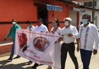 <strong>Toma protesta Comité de Jóvenes en Defensa de la 4T</strong>