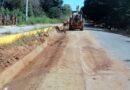 <strong>Rehabilitan tramos carreteros en la zona baja de Azoyú</strong>