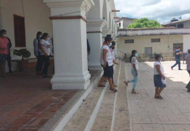 <strong>Azoyú participa en el primer simulacro nacional de sismo</strong><strong></strong>