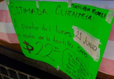 <strong>Suben d</strong><strong>os pesos el kilo de tortilla en Marquelia</strong><strong>, sin previo aviso</strong>