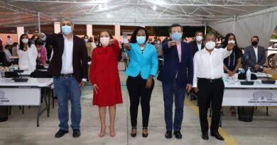 <strong>Protesta la Junta de Coordinación Política del Congreso</strong>