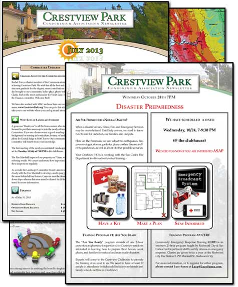 Crestview Park Newsletter