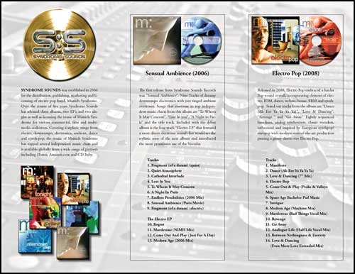 Syndrome Sounds Brochure