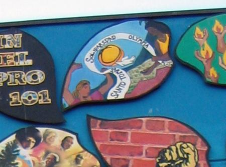 Santo Tomas Sister City on Wall