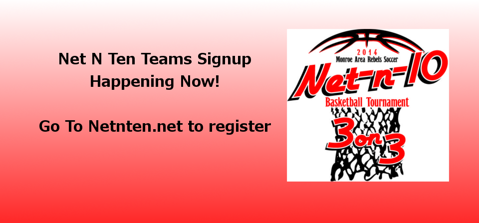 Net-N-Ten Registering Teams Now