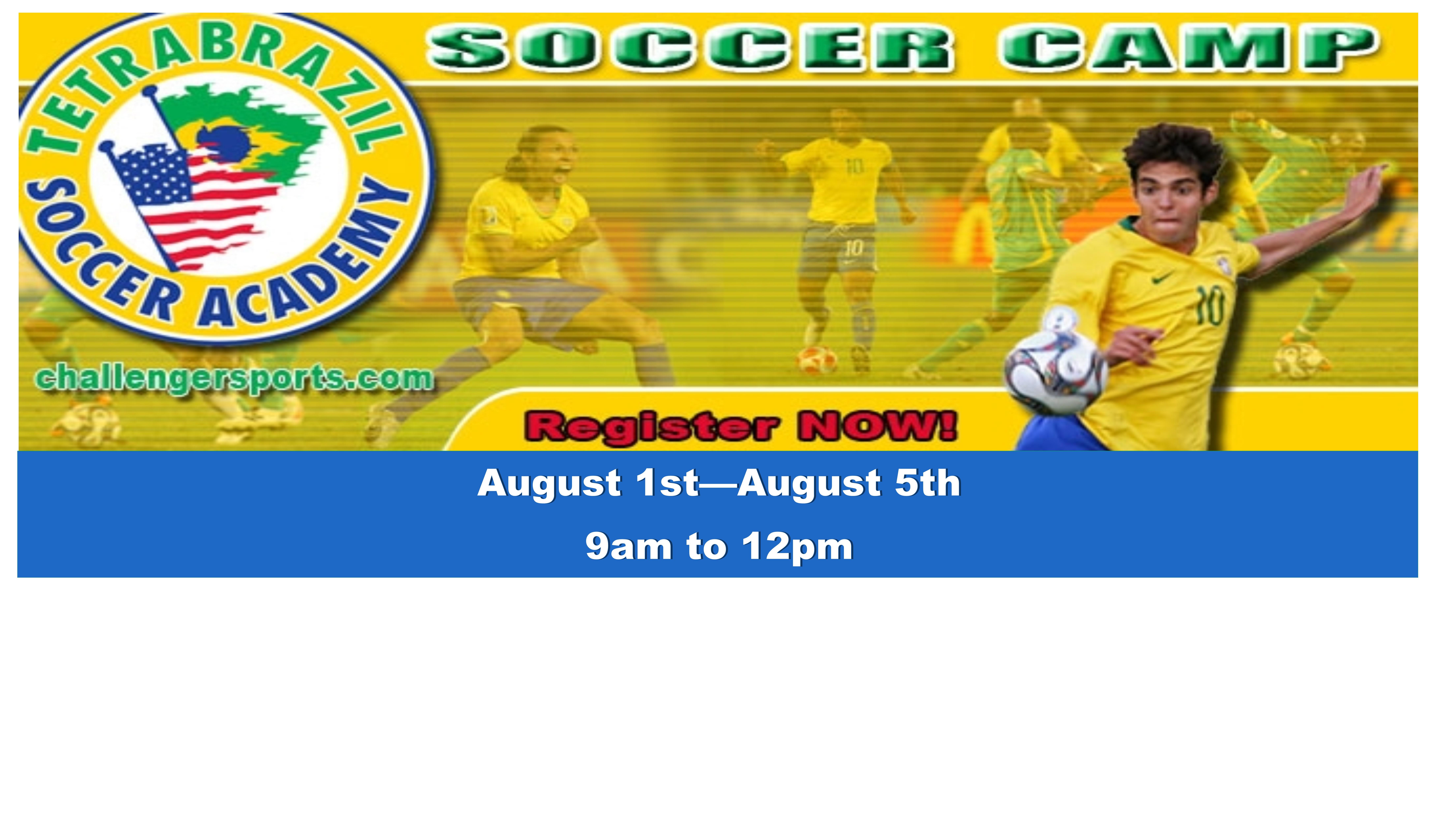 Summer Soccer Camp!