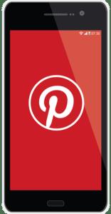 Pinterest on Smart Phone