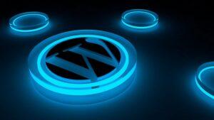 Wordpress w logo