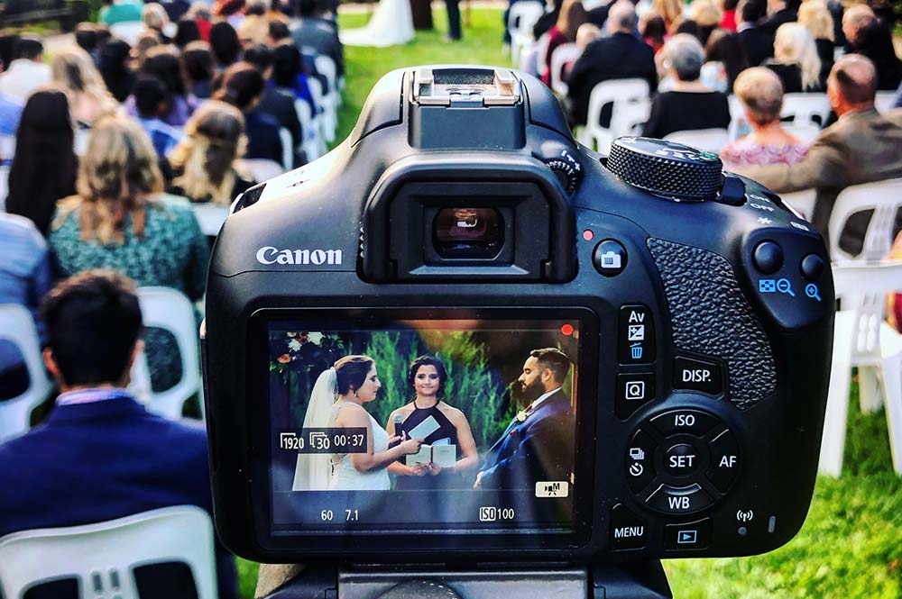 tips for wedding video